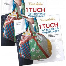 FUROSHIKI - 1 Tuch 43 Taschen & Verpackungen
