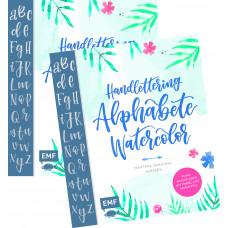 HANDLETTERING ALPHABETE WATERCOLOR