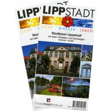 LIPPSTADT - STADTFALTPLAN
