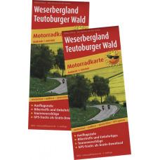 "MOTORRADKARTE ""WESERBERGLAND-TEUTOBURGER WALD"", MAßSTAB 1:200.000"