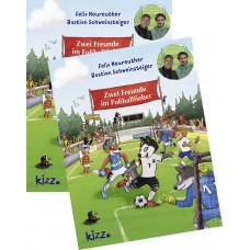 Felix Neureuther und Bastian Schweinsteiger - ZWEI FREUNDE IM FUßBALLFIEBER