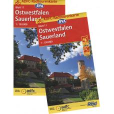 "ADFC-RADTOURENKARTE ""OSTWESTFALEN/SAUERLAND"""